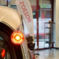 DS5 Classic Car im Showroom von Bozzo's Auto Center Wiedikon